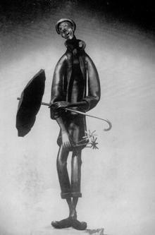 L'homme au bouquet, Jean MARC