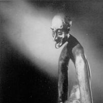 vieil homme, sculpteur Jean MARC